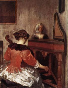 Gerard Ter Borch : The Concert II